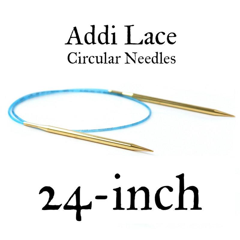 "Addi Addi Lace 24"" Circular Needles"