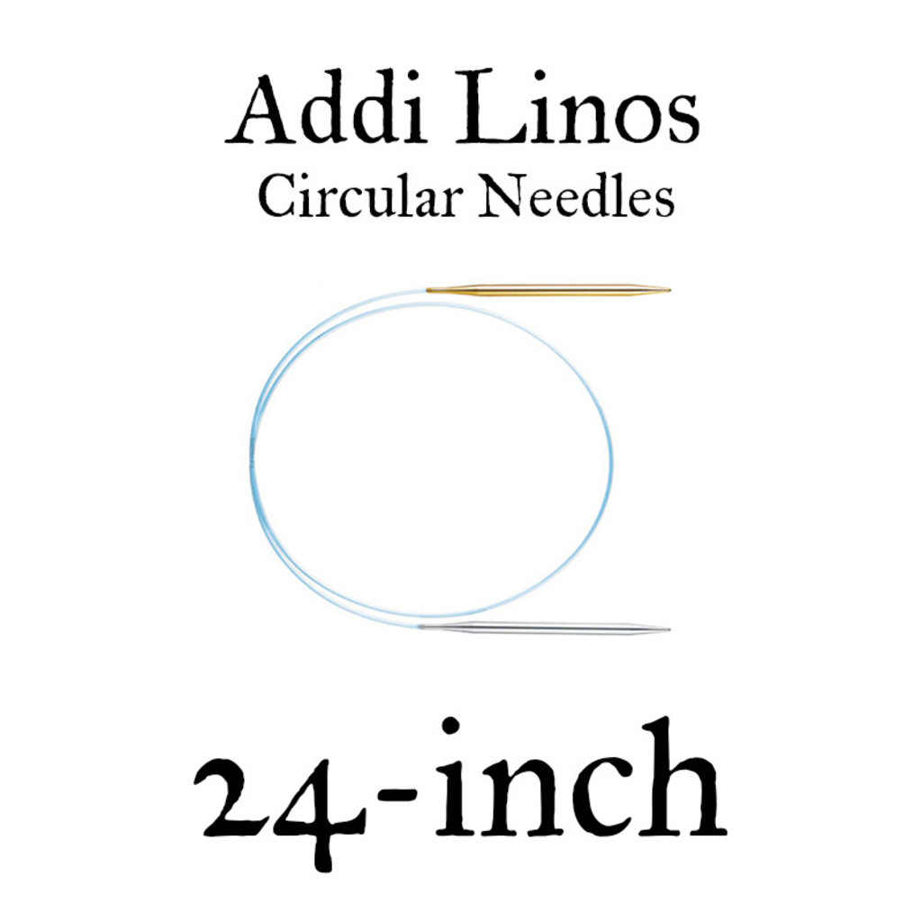 "Addi Addi Linos 24"" Circular Needles"