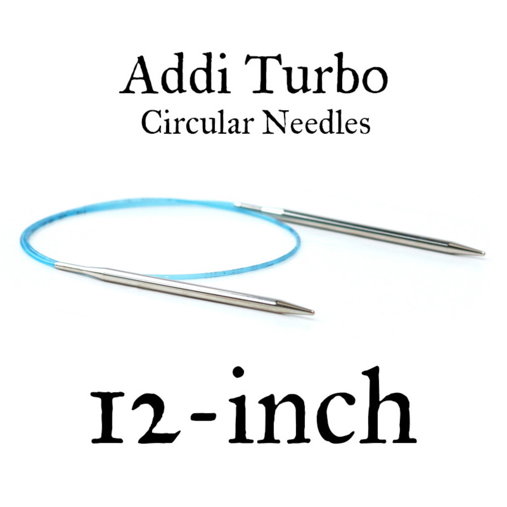"Addi Addi Turbo 12"" Circular Needles"
