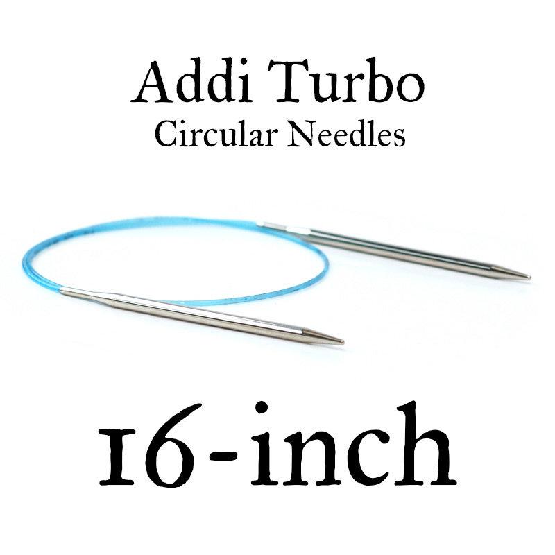 """Addi Addi Turbo 16"""" Circular Needles"""