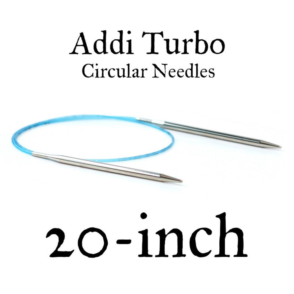 """Addi Addi Turbo 20"""" Circular Needles"""
