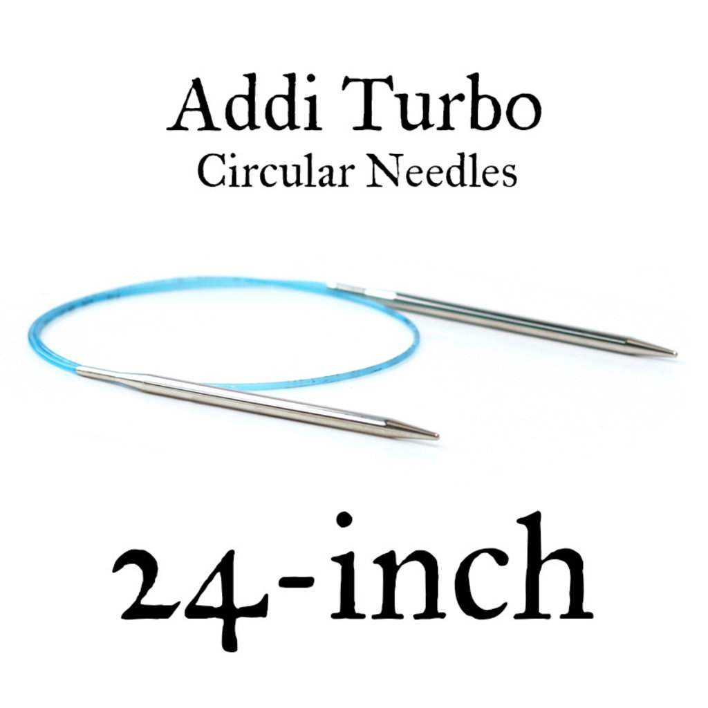 "Addi Addi Turbo 24"" Circular Needles"