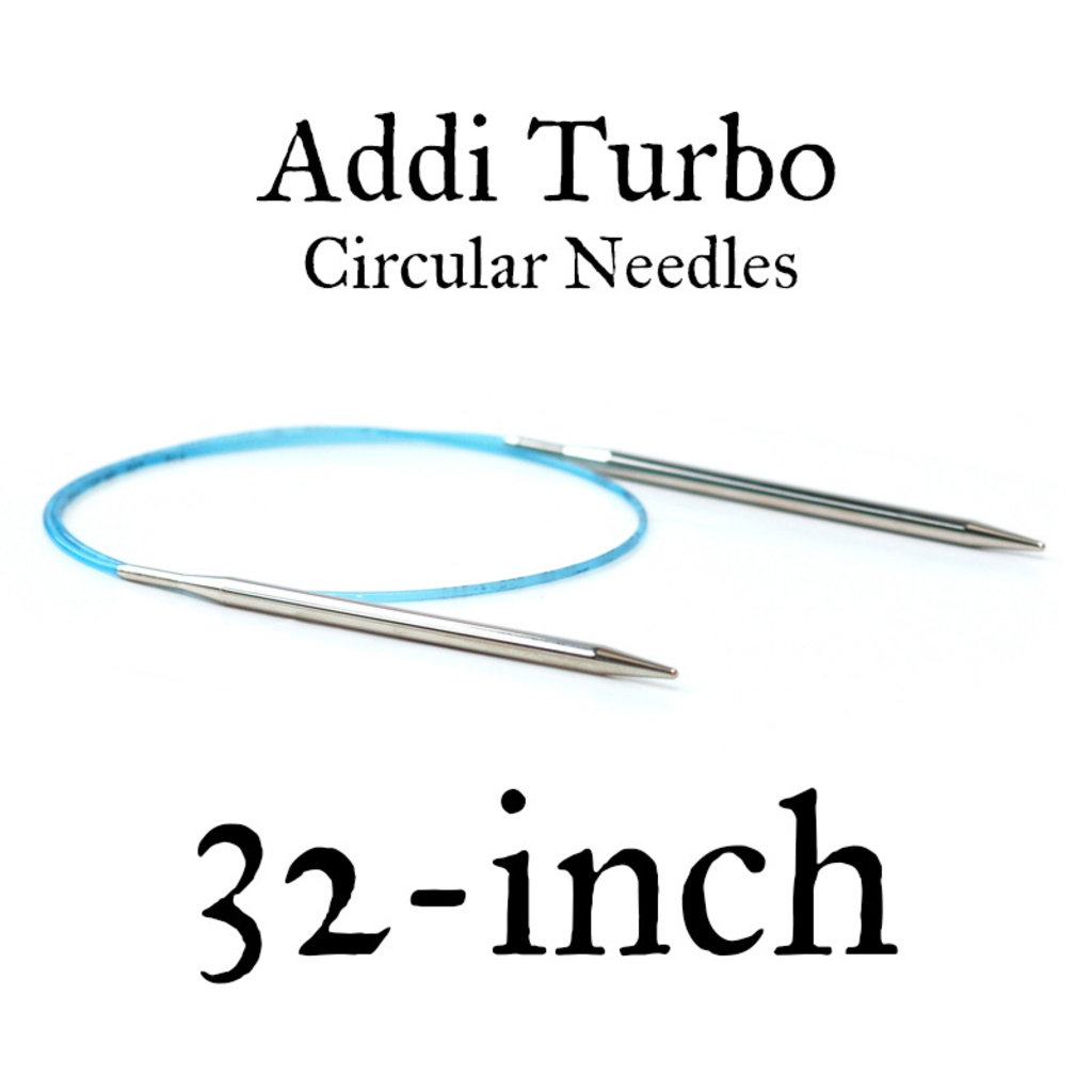 "Addi Addi Turbo 32"" Circular Needles"