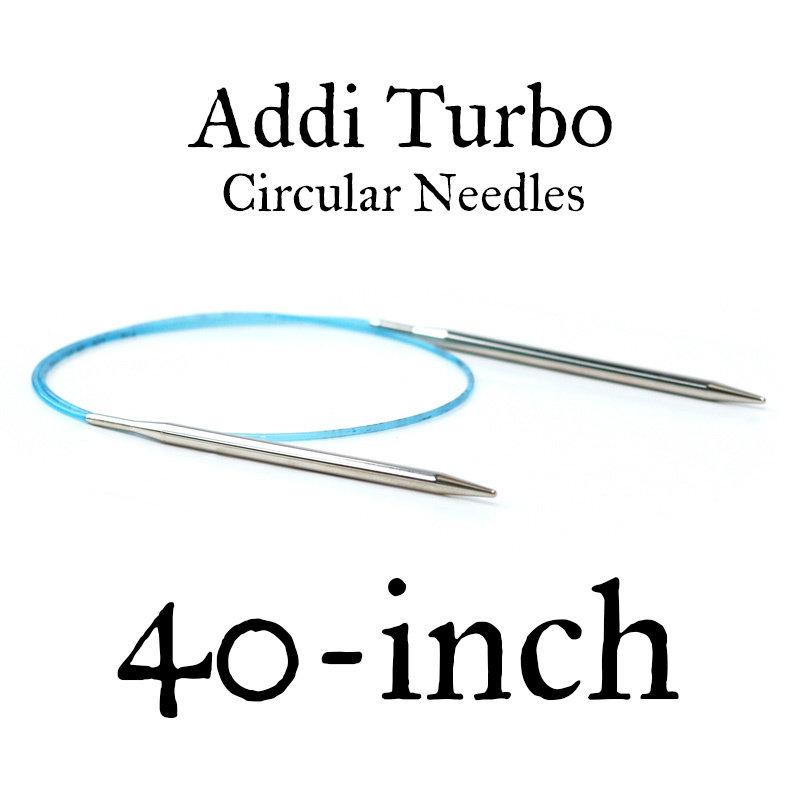 """Addi Addi Turbo 40"""" Circular Needles"""