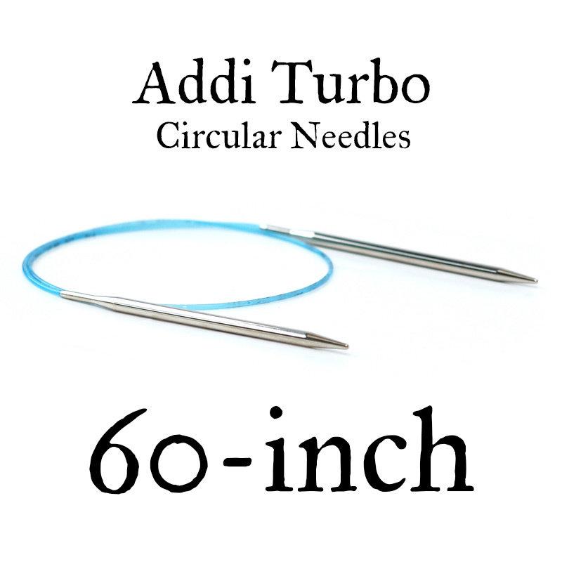 """Addi Addi Turbo 60"""" Circular Needles"""