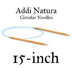 "Addi Addi Natura 15"" Circular Needles US 10.5 