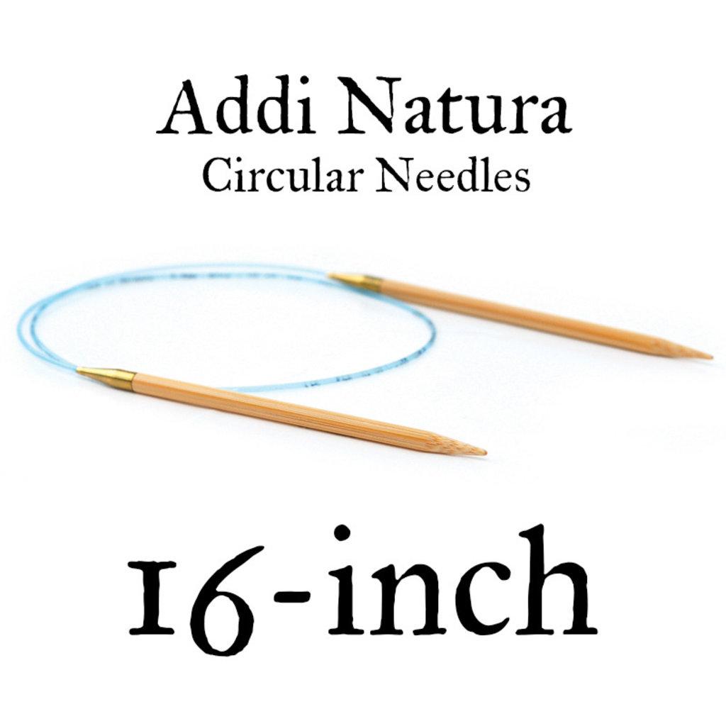 """Addi Addi Natura 16"""" Circular Needles"""