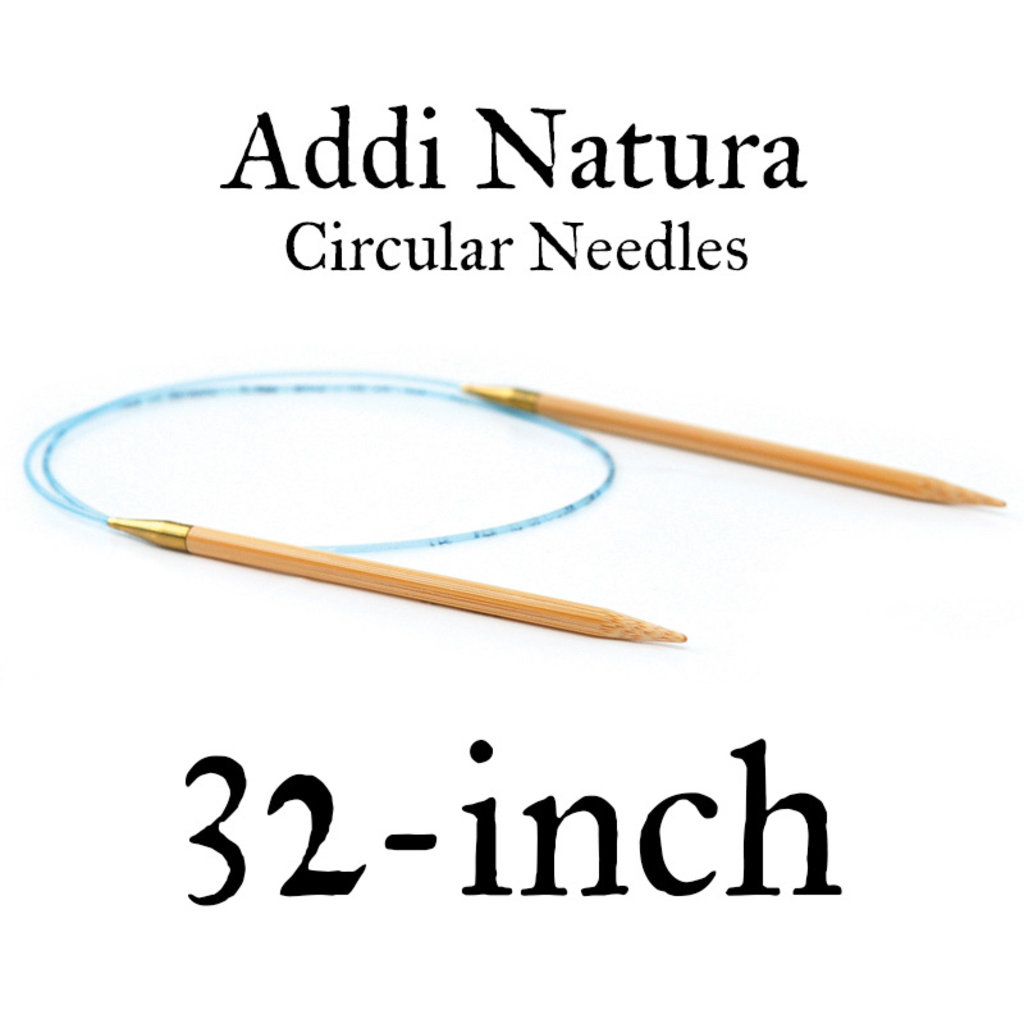 "Addi Addi Natura 32"" Circular Needles US 7 