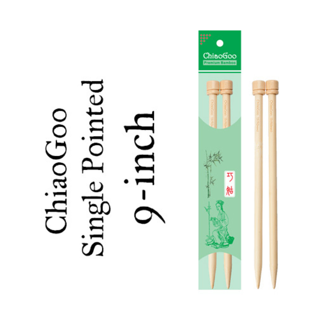 "ChiaoGoo 9"" Straight Needles"