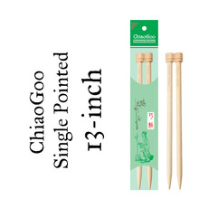 "ChiaoGoo ChiaoGoo 13"" Straight Needles"