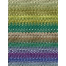 Noro Taiyo Sock by Noro #64 | Yellow, Greens, Purple, Blue