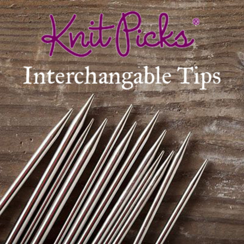 "Knitpicks Knitpicks 5"" Option Tips"