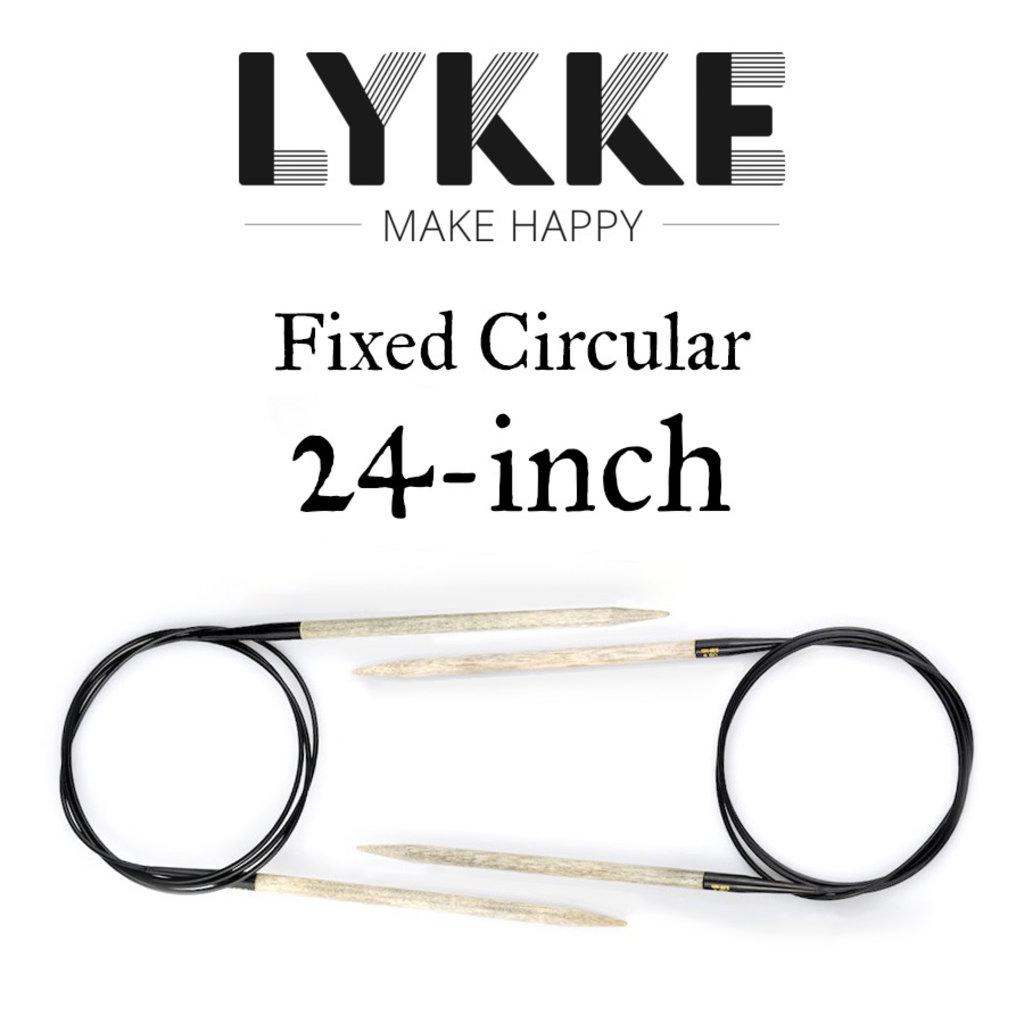 "Lykke Lykke 24"" Fixed Circular"