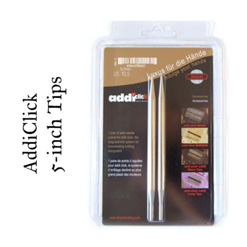 "Addi Addi Click 5"" Interchangeable Needles"