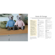 The Knitted Teddy Bear Book