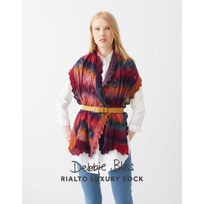 Debbie Bliss Lace Edged Stole | DB062