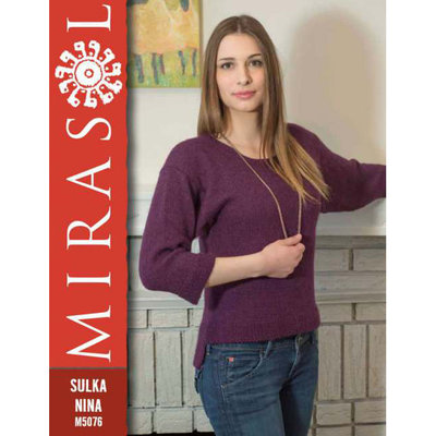 Mirasol Seed Stitch Trim Sweater | M5076