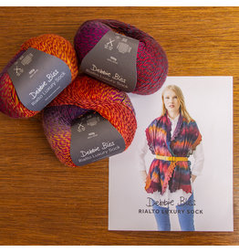 Debbie Bliss Kit #6 Rialto Luxury Sock Wrap   DB062