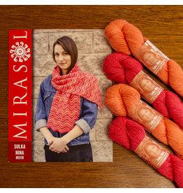 Mirasol Kit #8  Sulka Nina Scarf   M5118