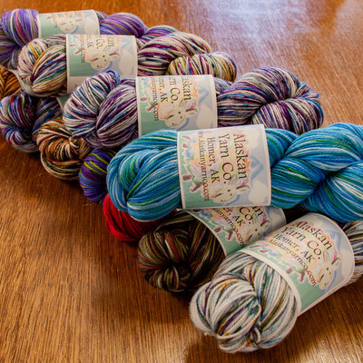 Alaskan Yarn Co. Sock by Alaskan Yarn Co.