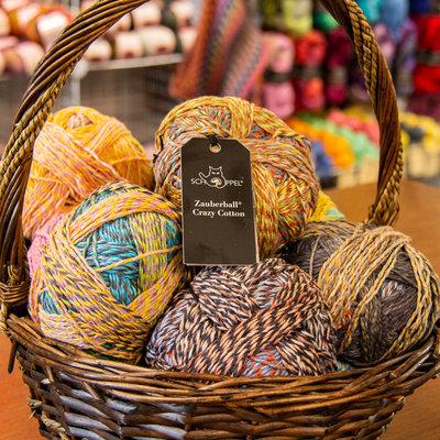 Schoppel Zauberball Crazy Cotton by Schoppel