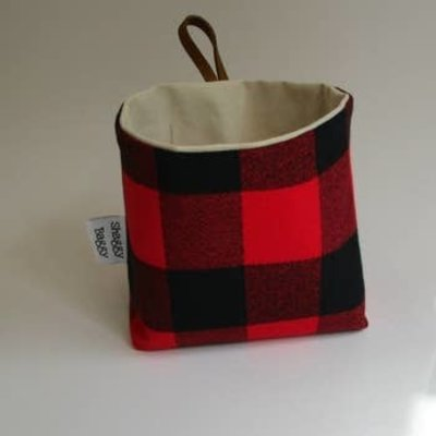 Shaggy Baggy Shaggy Baggy Medium Bin | Plaid