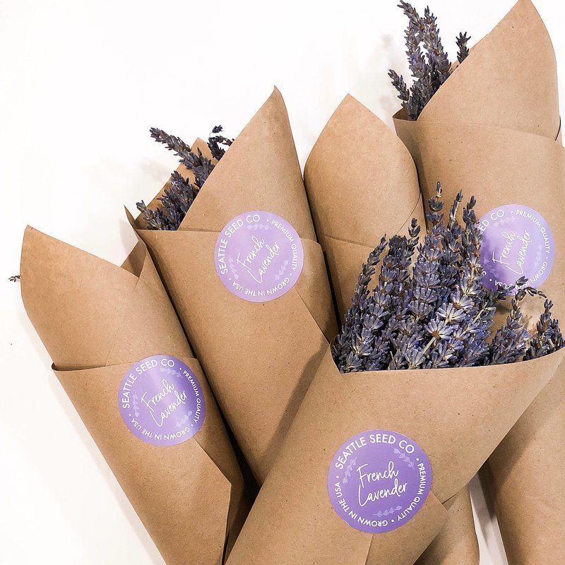Seattle Seed Company Dried French Lavender Bundles