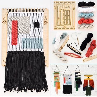 Black Sheep Goods DIY Tapestry Weaving Kit