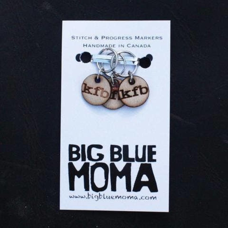 Big Blue Moma KFB Markers