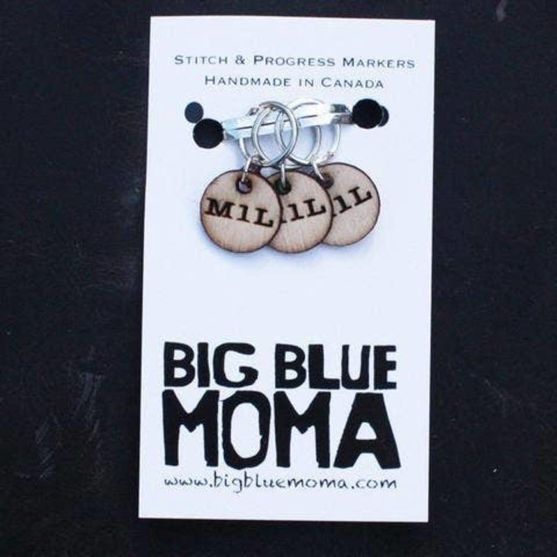 Big Blue Moma M1L Markers
