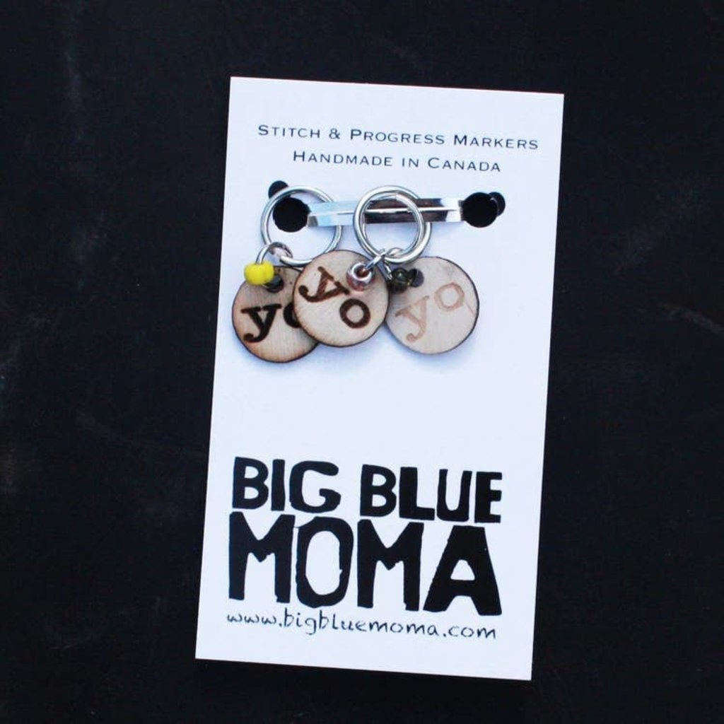 Big Blue Moma YO Markers