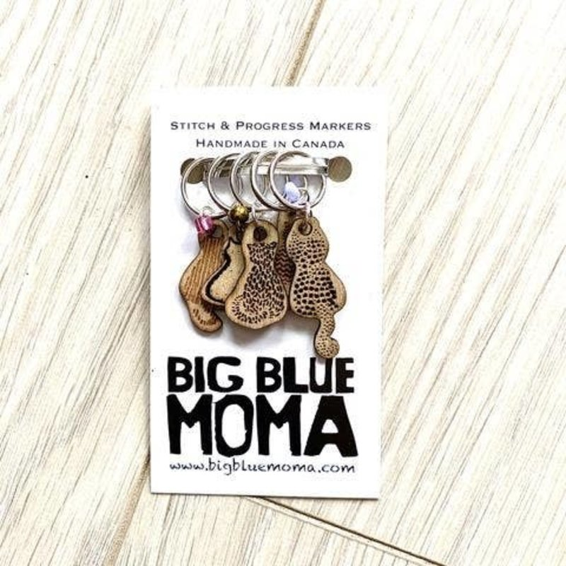 Big Blue Moma Cats Markers
