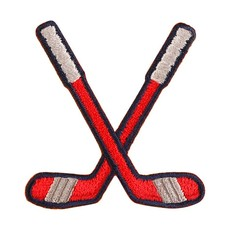 Patches and Pins Hockey Sticks Patch