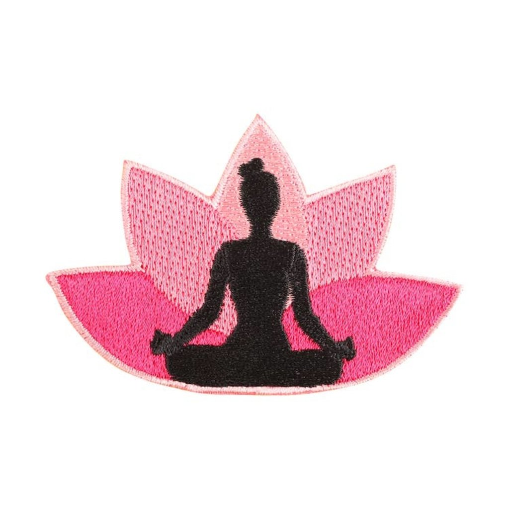 Patches and Pins Yoga Lotus Patch