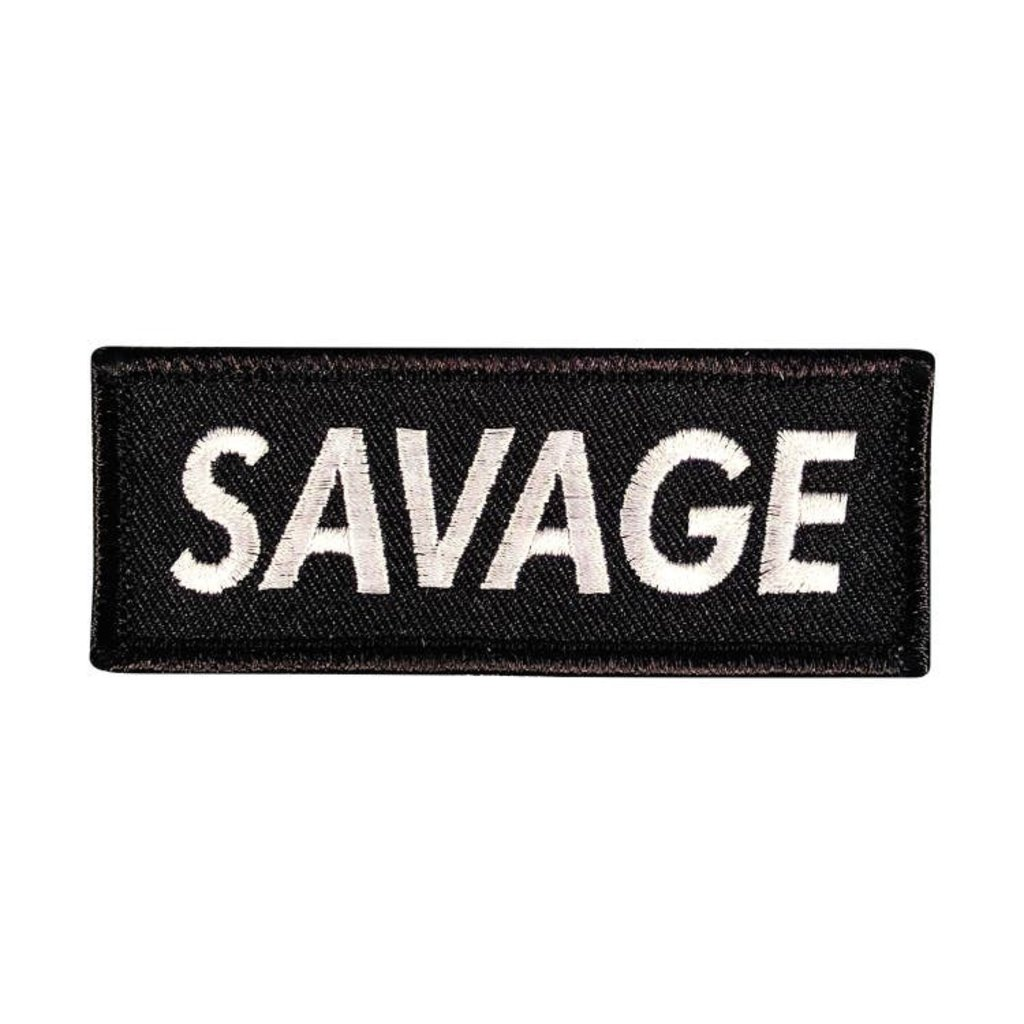 Patches and Pins Savage Patch