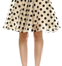 BRIDGE POLKA DOT ORGANZA SKIRT