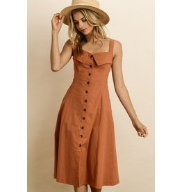 BRIDGE SIDNEY BUTTON DOWN DRESS