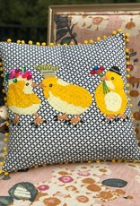 Bridge Home 3 Chicks Karma Living Pillow