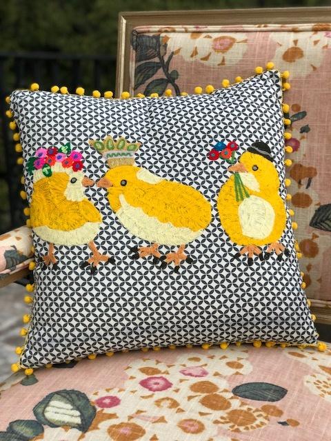 Bridge Home 3 Chicks Karma Living Pillow