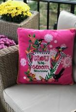 Bridge Home Grow Today Bloom Mañana Karma Living Pillow