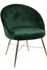 Bridge Home Chantilly Side Chair-Emerald
