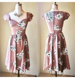 GARDENIA SWING DRESS