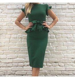 WILLOW FITTED DRESS