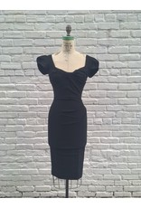 BILLION DOLLAR BABY FITTED DRESS- BLACK