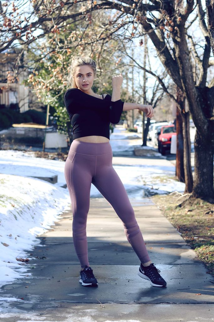 Mauve Fitness Leggings