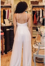 SALLY WHITE JUMPSUIT