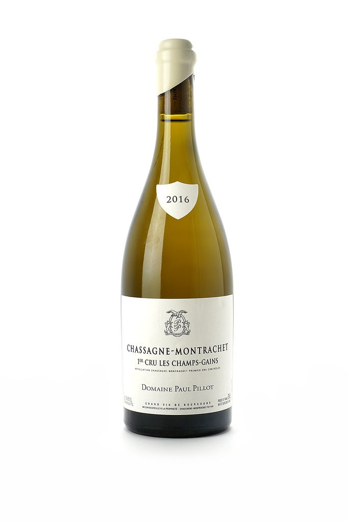 Paul Pillot Chassagne-Montrachet 1er Cru Les Champs Gains 2016