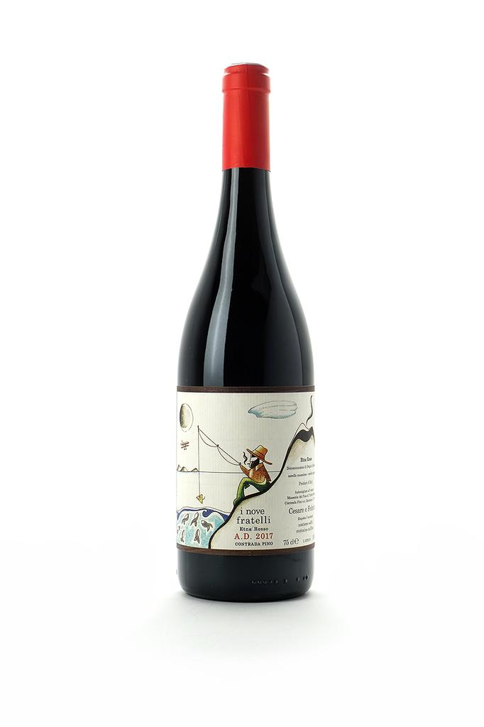 Masseria Del Pino Etna Rosso I Nove Fratelli 2017
