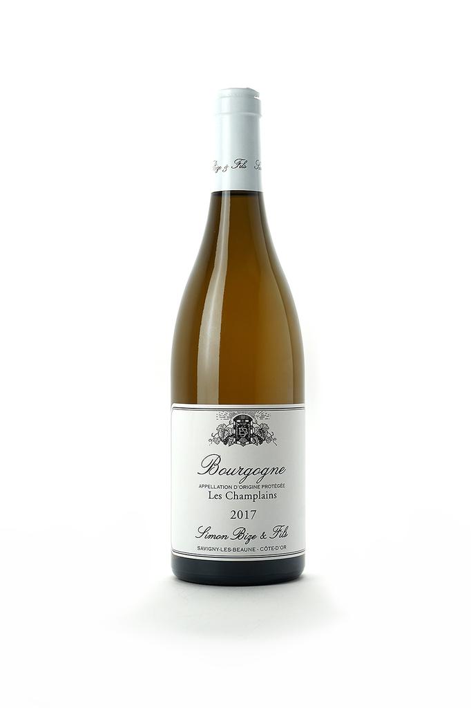 Simon Bize Bourgogne Blanc Les Champlains 2017
