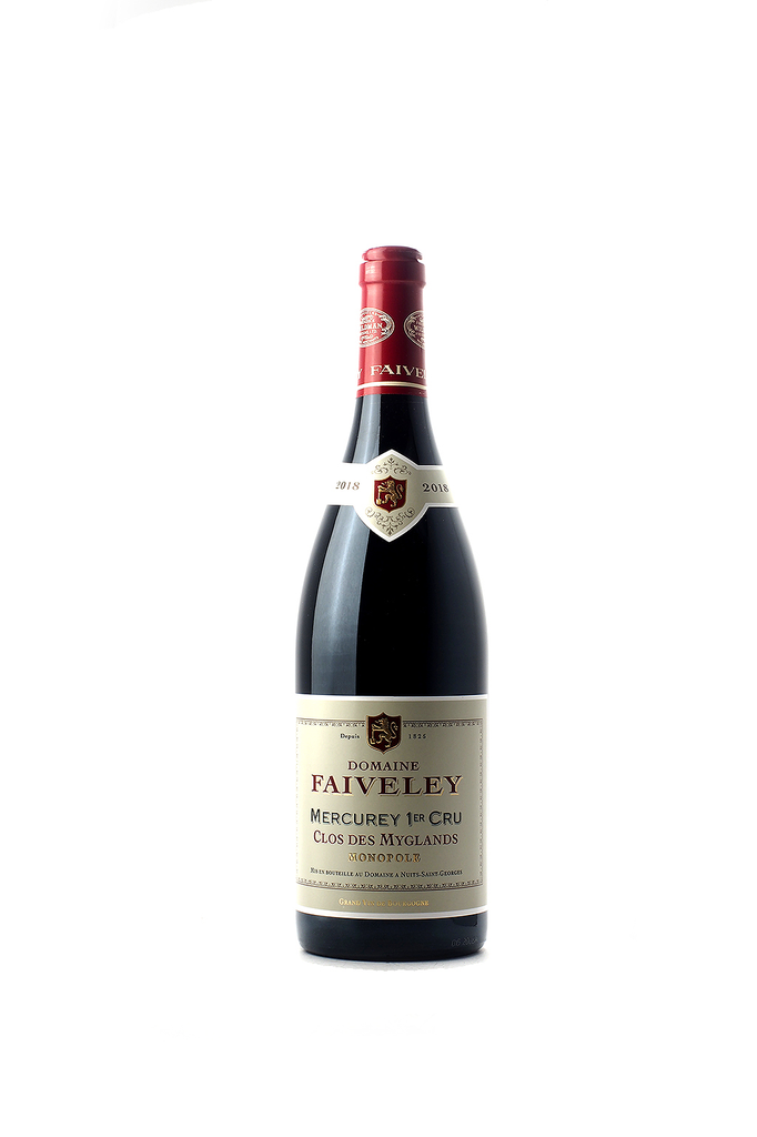 """Domaine Faiveley Mercurey 1er Cru """"Clos des Myglands"""" 2018"""